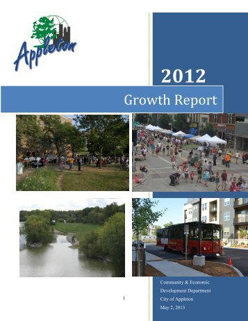 2012 Annual Growth Report - City of Appleton