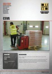 CEVA Case Study PDF - Hyster Company