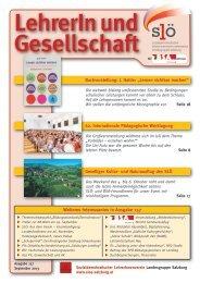 157 August 2013 - Sozialdemokratischer LehrerInnenverein ...