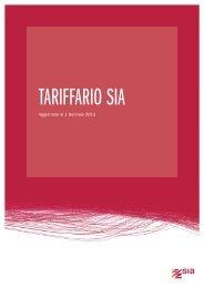 Tariffario Servizi Istituzionali SIA (256 KB)