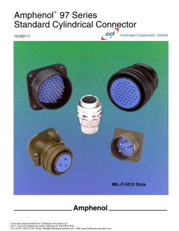 amphenol_97 series -MIL-C-50.. - Challenger Components Ltd
