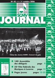 N° 45 - Société Cantonale des Musiques Vaudoises
