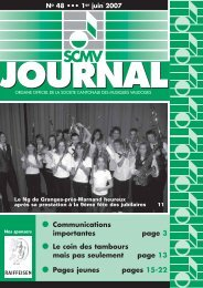 N° 48 - Société Cantonale des Musiques Vaudoises