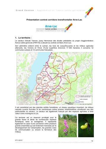 Présentation contrat corridors Champagne ... - Grand Genève
