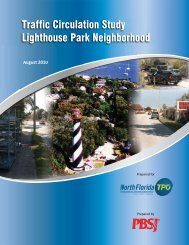 Lighthouse Park Neighborhood Traffic Circulation - North Florida TPO