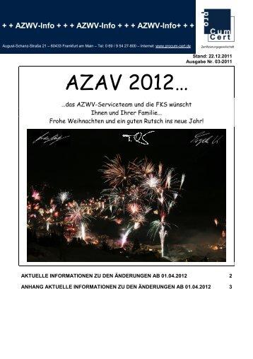 AZAV 2012… - proCum Cert GmbH