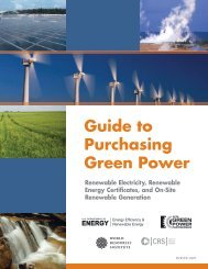 Guide to Purchasing Green Power - EERE - U.S. Department of ...