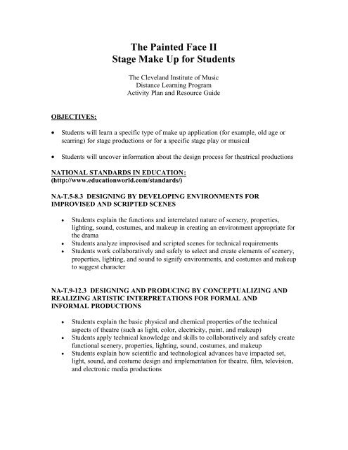 Download Class Materials - Cleveland Institute of Music