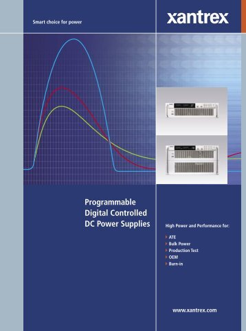 Programmable Digital Controlled DC Power Supplies - Mr Test ...