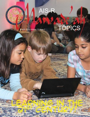 Vol 10, Issue 2 - American International School - Riyadh