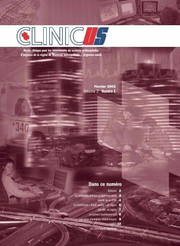 La recherche clinique à Urgences-santé