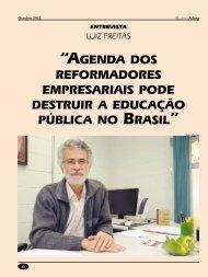 agenda dos reformadores empresariais pode destruir a ... - Adusp