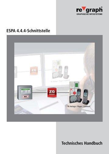ESPA 4.4.4-Schnittstelle Technisches Handbuch - Regraph.de