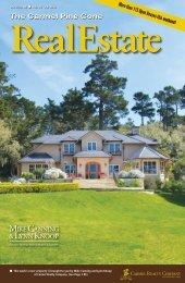Carmel Pine Cone, February 22, 2013 (real estate) - The Carmel ...