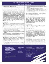 FY11GAAComPG1_2 copy - Nevada Arts Council