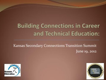 Building Connections in Career and Technical Education - TASN