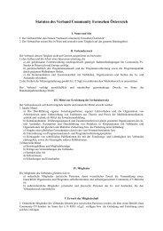 Vorschläge von Helmut Peissl zur Änderung der VFRÖ ... - FS1