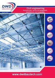 Catalogue DWD BauTech – Civil engineering