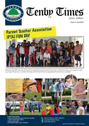 Parent Teacher Association (PTA) FUN DAY - Tenby Schools Malaysia
