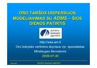 Mindaugo Bernatonio (AAA) pristatymas - Aplinkos apsaugos ...