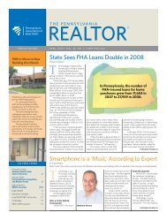 April 2009 - Pennsylvania Association of Realtors
