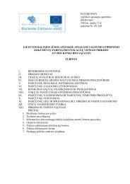 Atviro konkurso sąlygos.(pdf formatu) - Aplinkos apsaugos agentūra