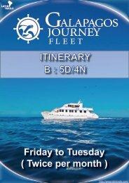 ITINERARY B : 5D/4N - Latin Trails
