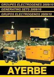 groupes electrogenes 2009/10 generating sets ... - Bulcom2000.com