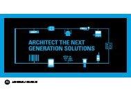THE SOLUTION - Motorola Solutions LaunchPad Developer ...