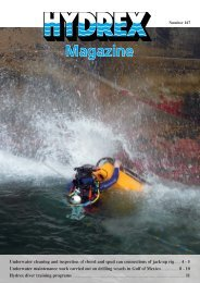 Magazine 167 - Hydrex Underwater Technology