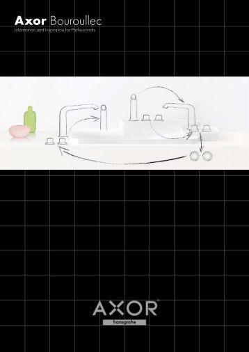 Axor Bouroullec bathroom planning - Hansgrohe