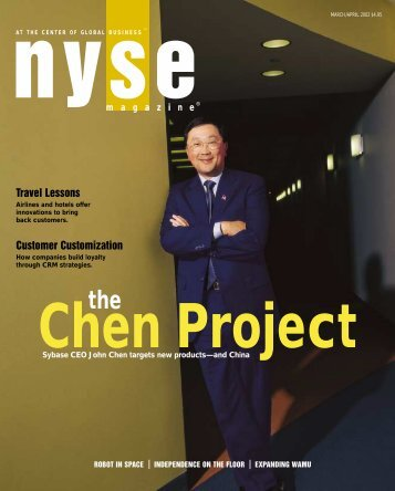 The Chen Project - Sybase