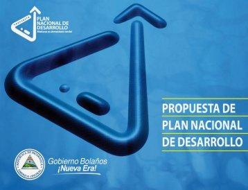 Propuesta Plan Nacional de Desarrollo - CISAS | Centro de ...