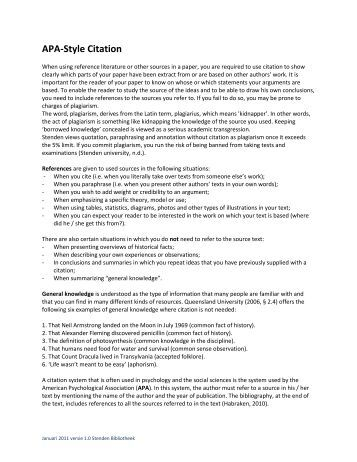 apa style for citing a dissertation This section describes the dissertation format that all nyusteinhardt doctoral dissertation formatting guidelines apa style requires writers to double.