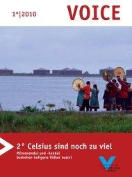 Download: VOICE 1/2010 - Gesellschaft für bedrohte Völker