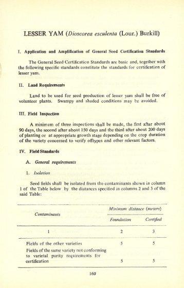 General Turf Certification Standard