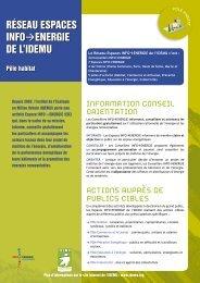 habitat | PDF, 992.6 ko - IDEMU