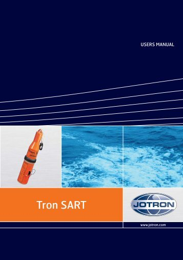 Tron SART Radar Transponder User Manual - Marinestore