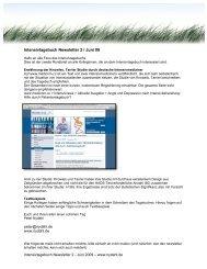 Intensivtagebuch Newsletter 2 / Juni 09 - nydahl.de