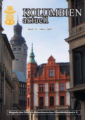 Heft 73 - Deutsch-Kolumbianischer Freundeskreis eV