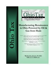 Manufacturing Renaissance in Ohio Powered by Oil & Gas from Shale