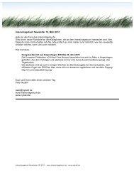 Intensivtagebuch Newsletter 18 - nydahl.de
