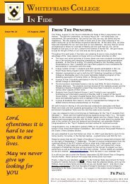 Issue No. 21 - August 15, 2008 - Whitefriars