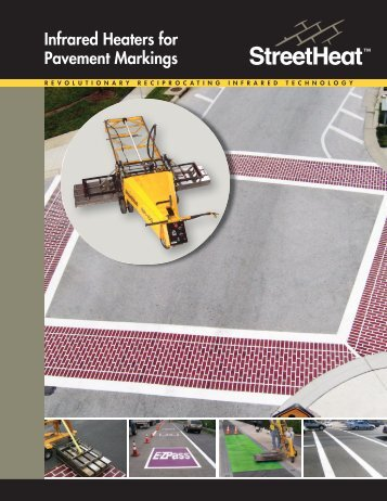 Infrared Heaters for Pavement Markings