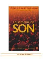 Document - La Semaine du Son
