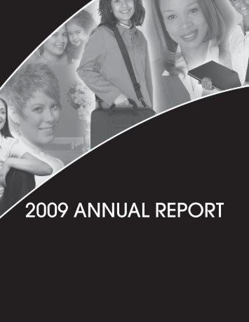 2008 – 2009 Annual Report - Making Changes