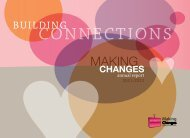 2011 – 2012 Annual Report - Making Changes