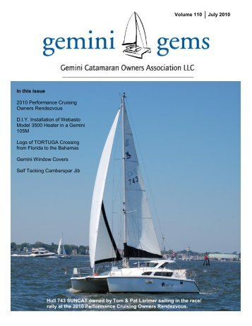 Issue #110, July 2010 - Gemini Gems