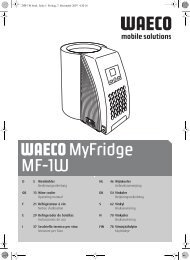 Istruzioni d'uso - Waeco
