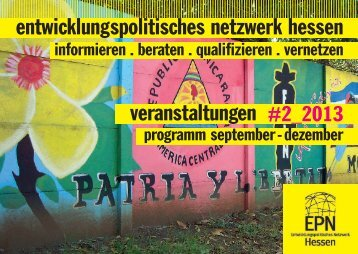Veranstaltungsprogramm #2_2013 - EPN Hessen eV